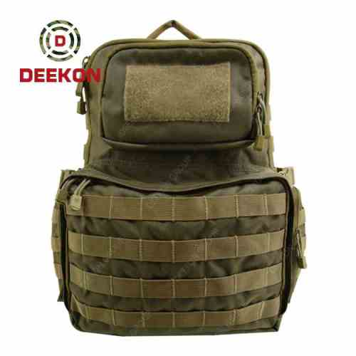 Factory Wholesale High Quality Outdoor Military Tactical Backpack Supplier Green Bag