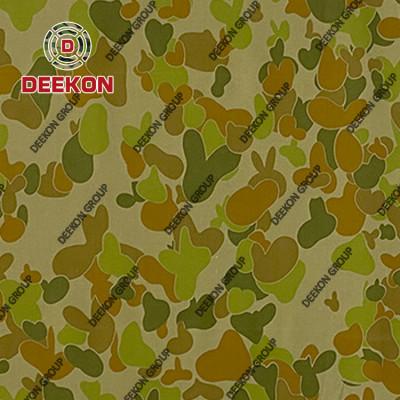Australia Army Twill 100% Cotton Camo Fabric for Uniform and Garment Supplier