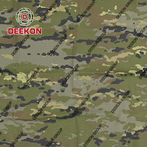 Multicam Twill Rip-stop NC 50/50 Uniform Fabric with Anti-Bacteria