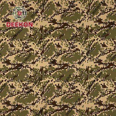 Digital 100% Polyester Oxford Camo Fabric with WR for Bulletproof & Tactical Vest Supplier