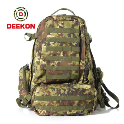 High Quality New Style Military Tactical Bag Supplier Camouflage Backpack