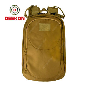 Army Khaki Military Tactical Backpack Supplier for Outdoor Activity