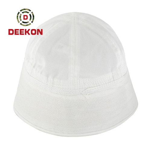 Deekon Supply High Quality White Color Bonnie Cap for Dominica