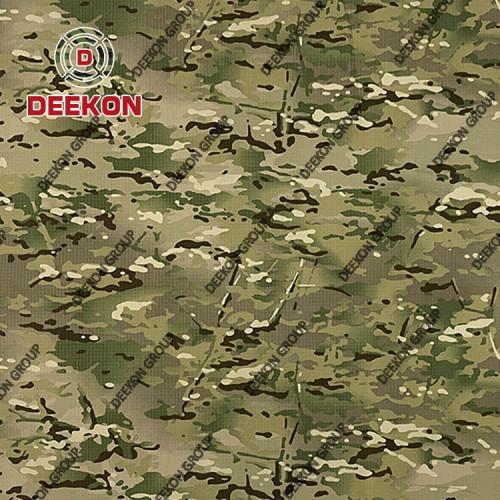 Peru Multicam NC 50/50 Uniform Camouflage Fabric with Anti-Infrared for BDU Uniform Supplier