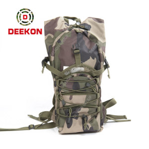 Hiking Tactlcal Hydration Backpack Supplier Camouflage Army Oxford Molle Bag
