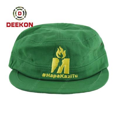 Deekon Group Made Green Color Basketball Cap with Customized Logo