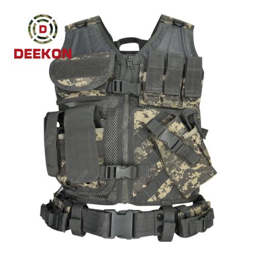 Military Tactical Vest Manufacturer Digital Camo Combat Vest