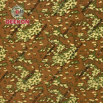 Cotton 60% Polyester 40% Ripstop Camouflage Fabric with WR for Military Uniform Supplier