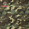 Wholesaler Woodland Twill Cotton 65% Polyester 35% Camouflage Fabric  for Army Garment