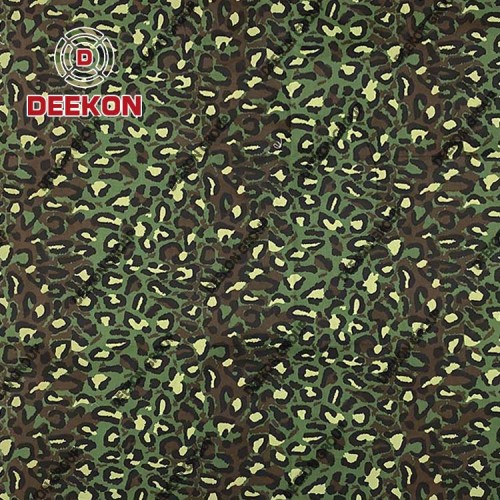 Supplier NC50/50 Ripstop Camo Fabric with Anti-Infrared IRR Waterproof for Combat Uniform