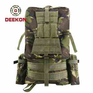 Wholesale Woodland Camo Military Rucksacks Supplier for Army