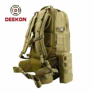 Wholesale Khaki Molle Military Rucksacks Supplier Tactical Backpack Factory