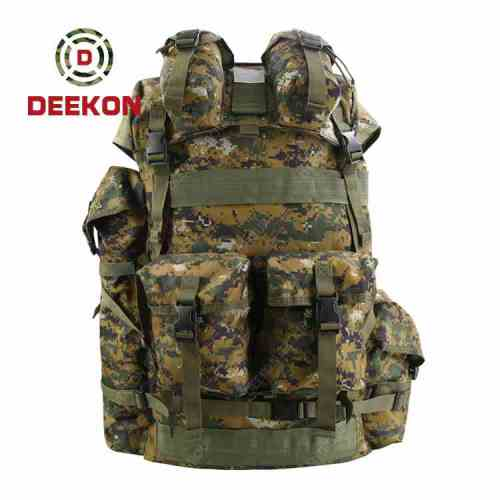 Tactical Backpack Supplier Camouflage Military Assault Rucksack Outdoor Bag
