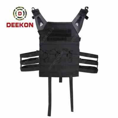 Bulletproof Plate Carrier Supplier Military Black Molle Vest for Bulletproof
