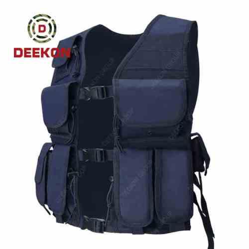 Manufacturer Military Vest Supplier Dark Blue Tactical Police Vest