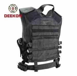 Wholesale Tactical Police Vest Factory Black Molle Vest Manufacturer for Police