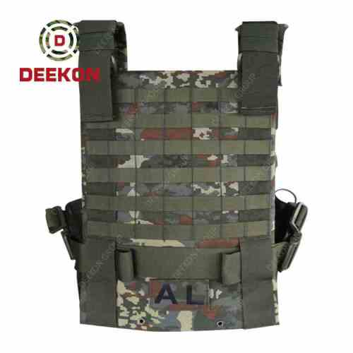 Manufacturer Military Tactical Vest Supplier Camouflage Molle Vest for Army