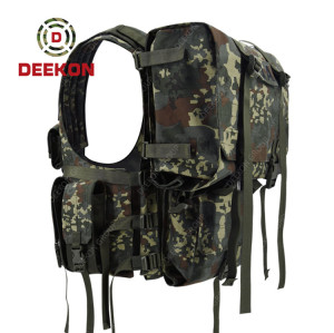 Military Tactical Vest Supplier Hunting Camo Vest for Army Use