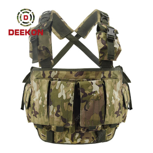 Military Tactical Vest Factory Camo Chest Rig for Army