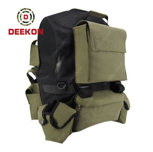 Military Tactical Vest Supplier Army Green Vest for Combat Use