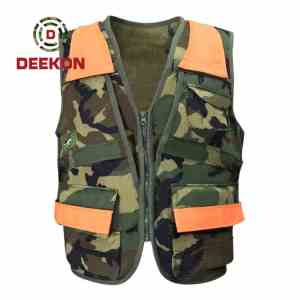 Camouflage Military Tactical Nylon Vest Supplier for Army Use