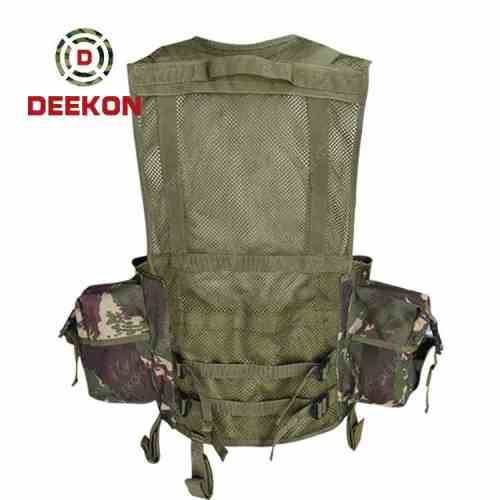 Wholesale Military Tactical Vest Supplier Camouflage Molle vest for Army