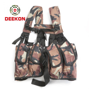 Heavy Duty Military Tactical Vest Supplier Camo Security Vest for Arny