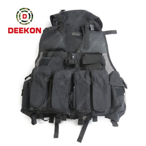Deekon Military Tactical Vest Supplier Wholesale Security Airsoft Molle Vest for Army