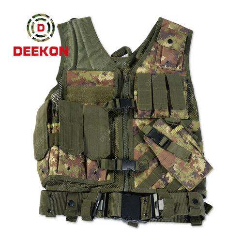 Military Tactical Vest Supplier Black Combat Vest for Police
