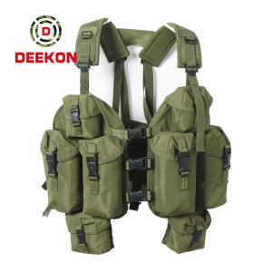 Military Army Green Chest Rig Factory Tactical Nylon Vest for Army
