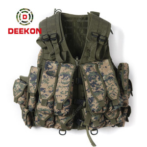 Military Tactical Vest Company Camouflage Tactical Vest for Outdoor