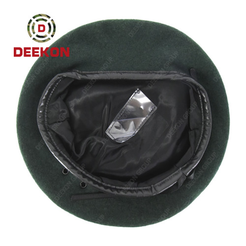 Deekon Manufacture for Army Green Color Military Beret for Republic of Lithuania