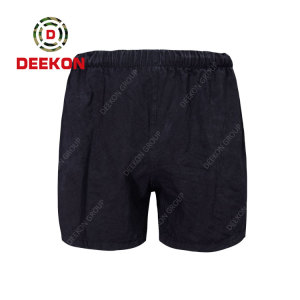 Deekon Military Trousers Factory for the Black 100% Cotton Soft Under wear for Serbia Army