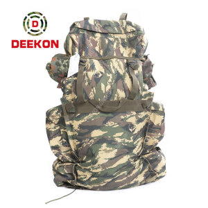 Camouflage Military Canvas Bag Military Rucksacks Supplier for Hiking