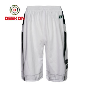 Deekon Military Trousers Supply Plain White Army Trousers 100% Cotton light weight pants