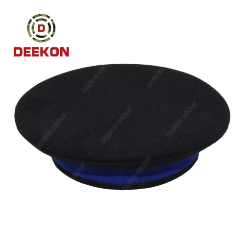 Military Peaked Hat Factory for Supplying Army Officer Peak Cap