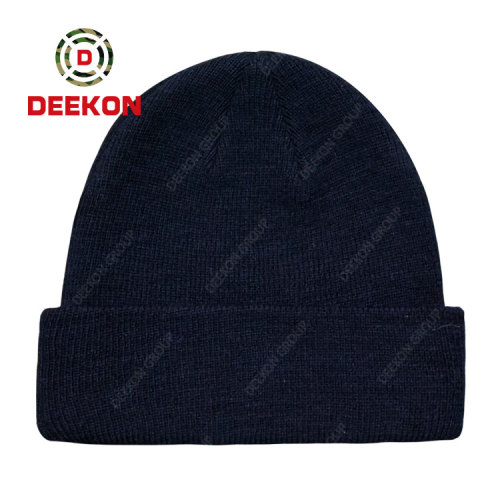 Deekon Factroy for High Quality Military Army Police Wool Cap