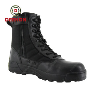 Deekon Factory Supply  for Top Quality Leather Military Army Tactical Boots
