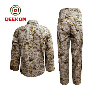 China military uniform Supply Saudi Arabia Desert Digital Camo TC 65/35 Combat Uniform