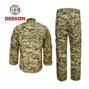China uniform Supply Philippines Anti infrared Woodland Camo Battle Uniform