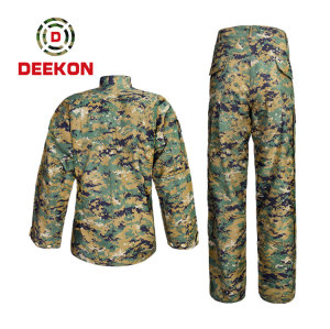 DEEKON military factory High Quality TC 65/35 Woodland Chile Camouflage Uniform Combat Uniform