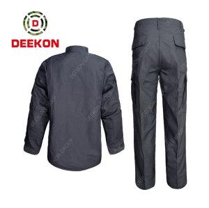 China military Clothing factory Supply Panama Grey Color TC 65/35 Army Used Uniform