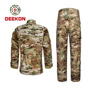 Chinese Factory Hot Sale Multicam Camo T/C 65/35 Rip-stop Uniform for Panama