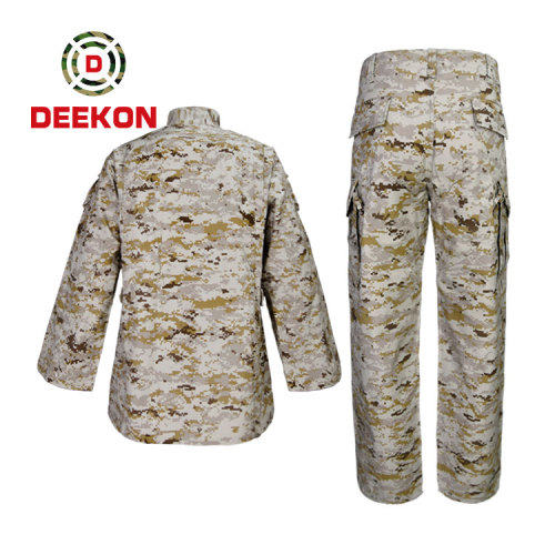 Deekon Chinese Factory Top Quality Digital Army Camouflage Uniform with Cap