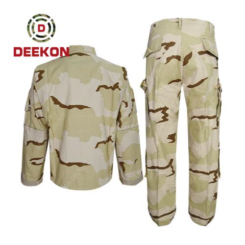 military China supply Hungary 3 colour Desert Camouflage TC Military Uniform