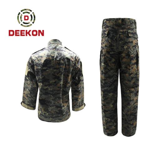 DEEKON Military Uniform Supply Camouflage Ripstop Military Uniform for Libya Army