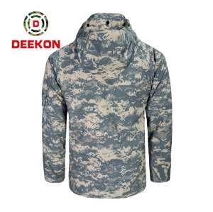 Deekon military jacket factory for Digital Camouflage New Design Outwear Polyester jacket