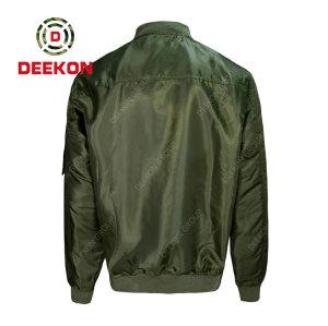 Deekon Military Jacket Manufacture OEM Flight Jacket Windproof Outdoor Fashion Short Jacket