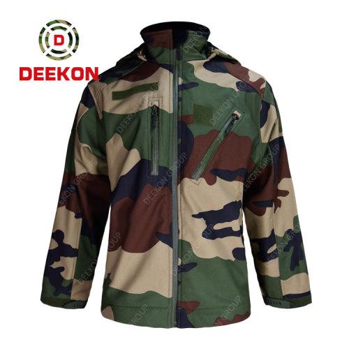 Deekon Military Jacket Factory for Senegal Woodland Camouflage M65 jacket