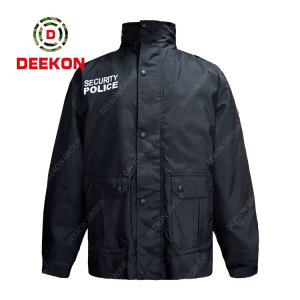 Military Jacket Supply Best quality Black Printed Logo Military M65 Jacket in China